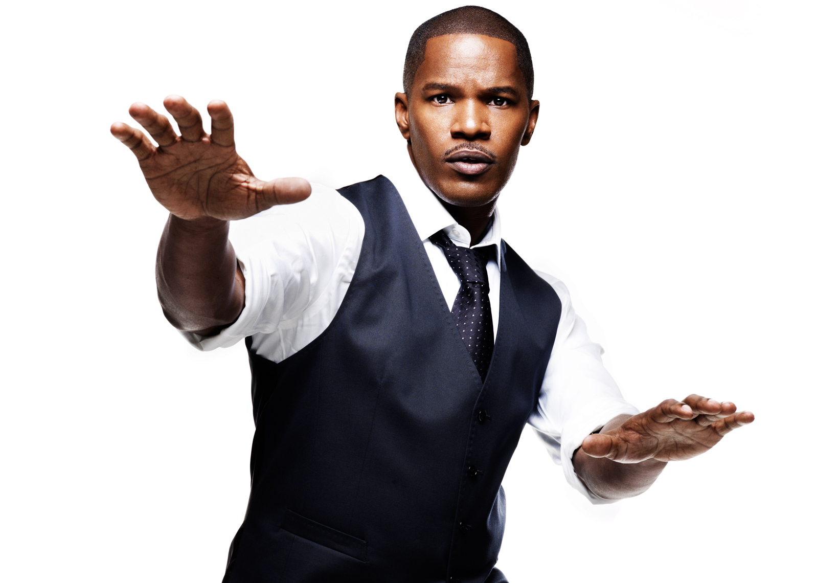 Jamie Foxx by The Saint