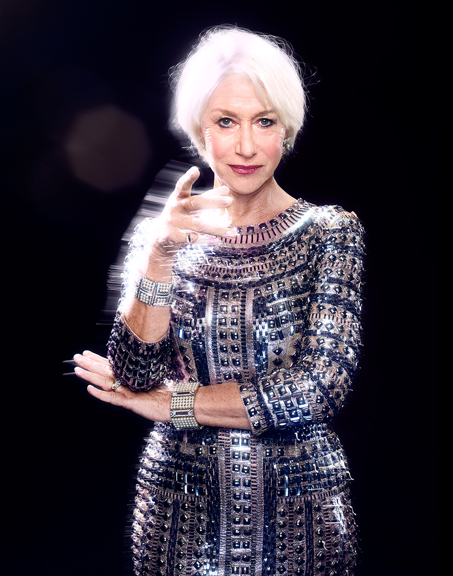 Actor Helen Mirren by Saint