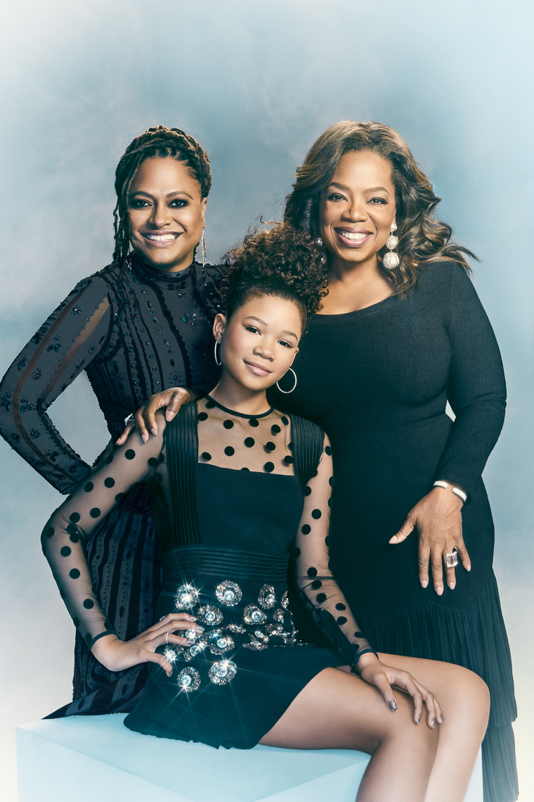 Oprah Winfrey and friends by Saint