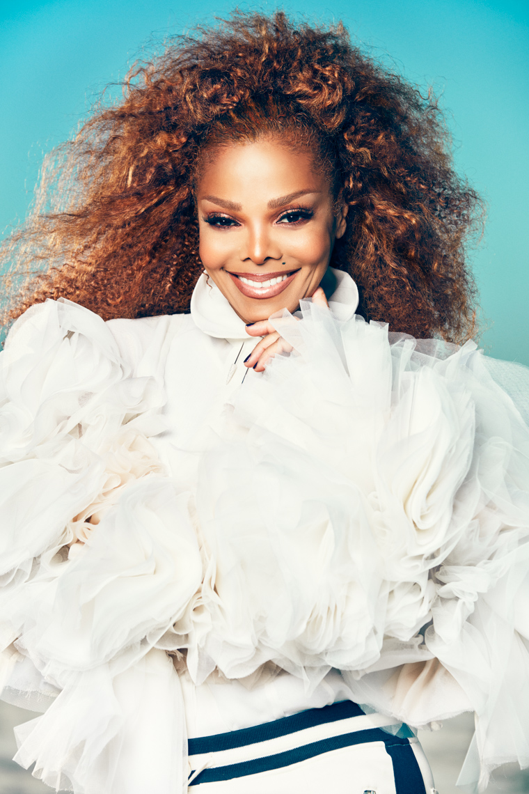 Janet Jackson fashion by Saint