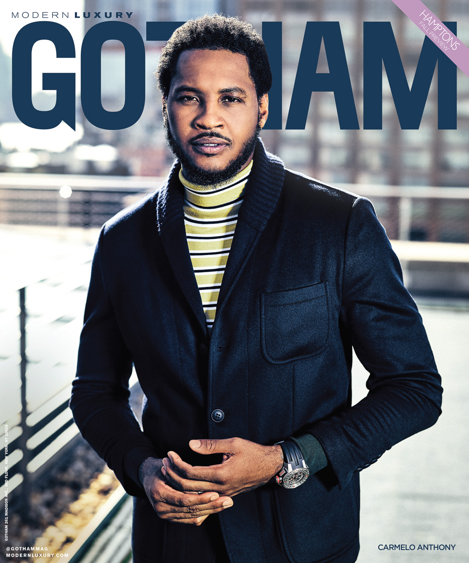 Carmelo Anthony Cover Shot By The Saint