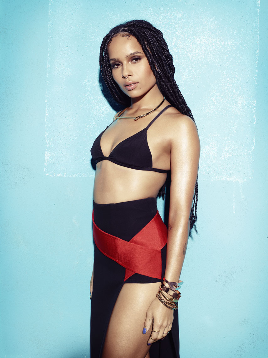 Zoe Kravitz Magazine cover by Saint