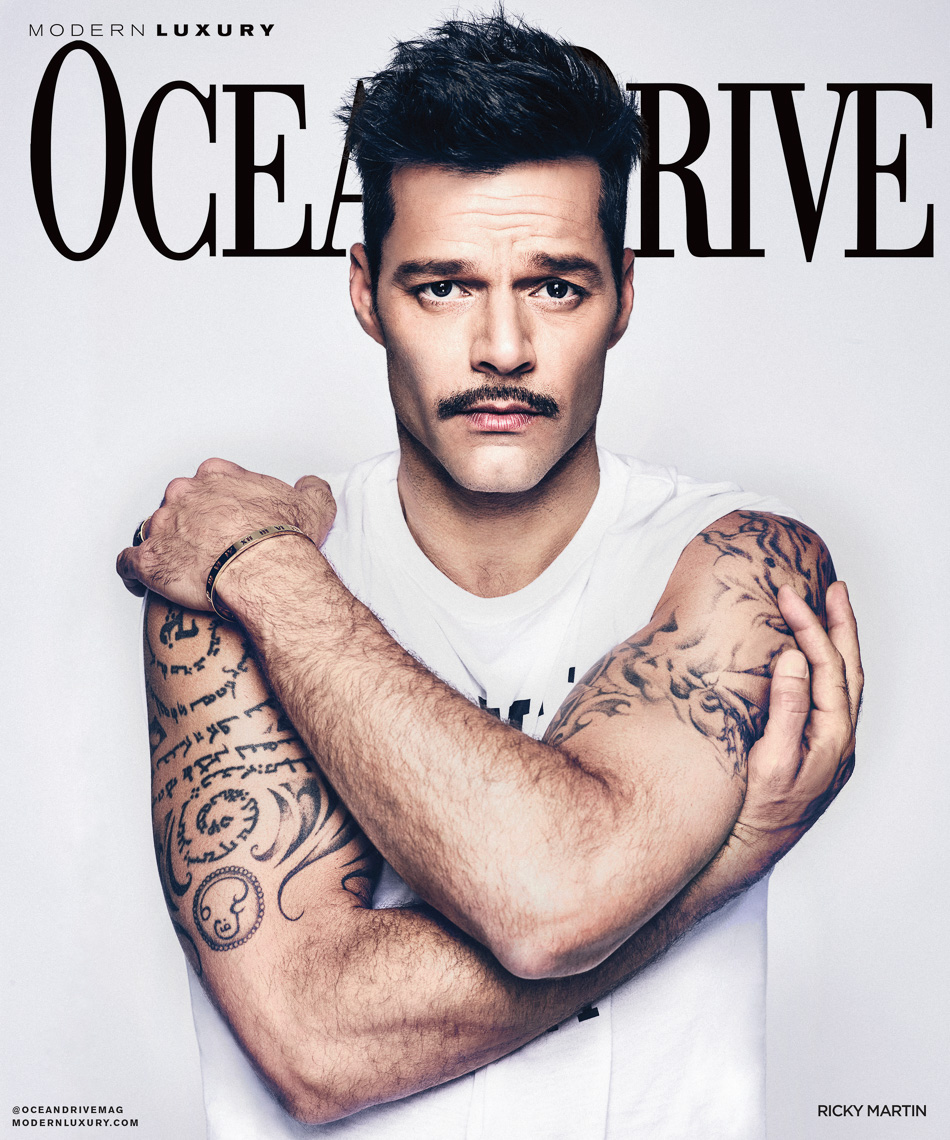 Ricky Martin Cover Shot by The Saint