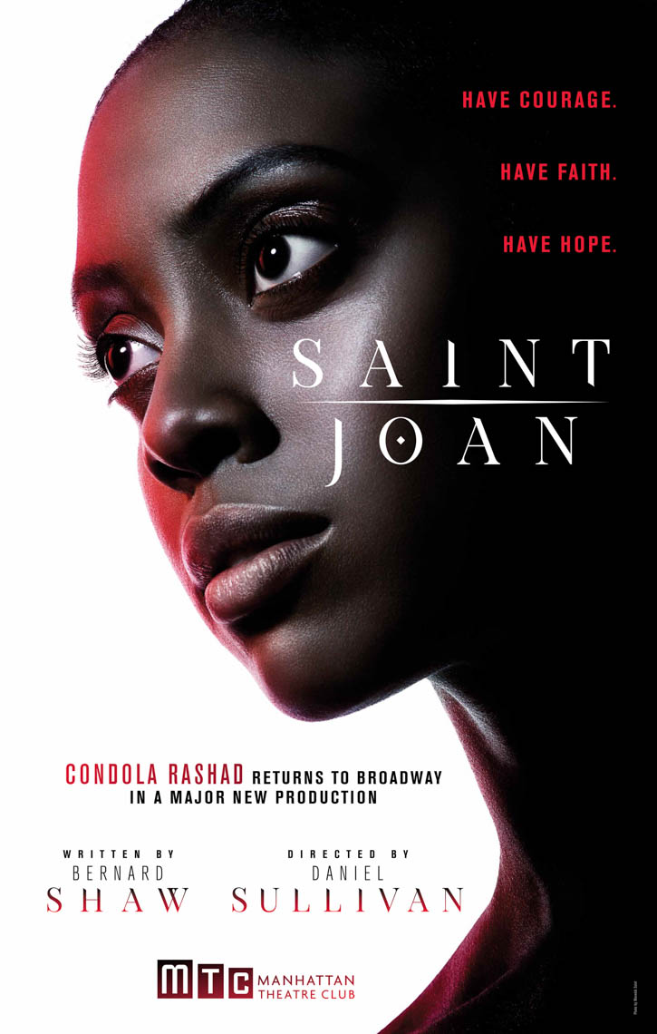 Condola Rashad returns to Broadway shot bt The Saint